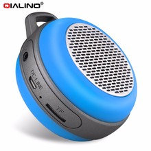 Mini portable Bluetooth speaker with dual magnetic trumpet,support TF card /MP3 fot exercise,walking and other entertainments