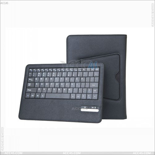 Detachable bluetooth Keyboard leather case for Tablet PC Nook HD 9 P-NOOKHD9BTHKB001
