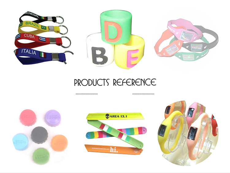 Boce Eco Friendly Custom Silicone Bracelet