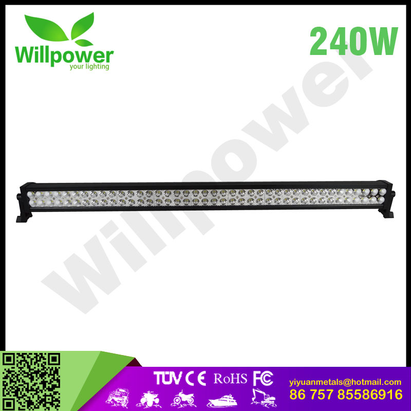 "2017 NEW car led light bar 42 ""inch 240w COMBO led light bar with wireless remote control super slim led light bar FOR SUVS"