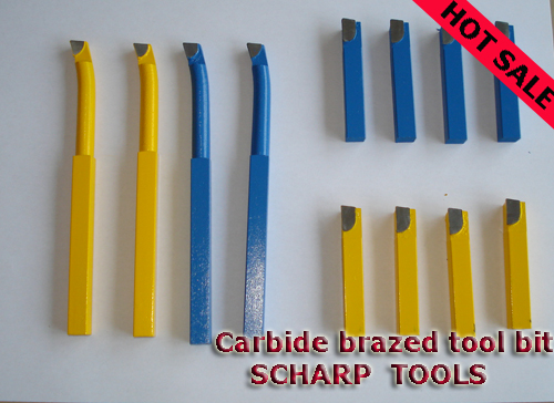 Carbide tipped brazed turning tool bit K10 P25 P30