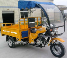 2013 New Products Yellow Motorcycle 150cc Air-cooled Cargo tricycle KV150ZH-B3 Factory direct sales Three wheel motorcyle