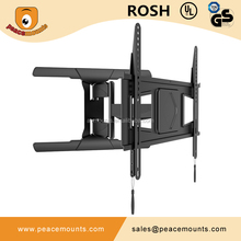 China Leader Manufacturer Peacemounts SPS600-L Long Articulating LCD LED TV Monitor Flat Panel TV Wall Mount