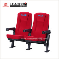 Leadcom push back folding movie theater chair with cupholder (LS-11602)