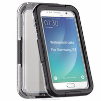 2016 newest outdoor use 3D phone case for galaxy s7 waterproof 3D silicone phone case