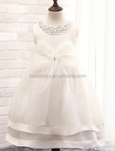 Hot sale 2015 instyles kid bridesmaid dress wedding flowergirl dress
