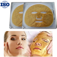 Hot selling delay age gold collagen face mask