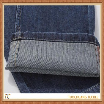 cheap high quality combed polyester denim fabric