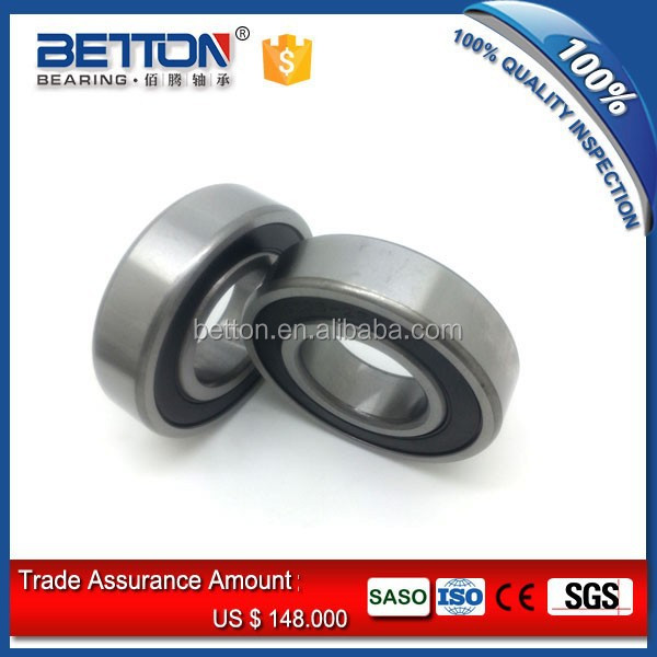 rubber sealed deep groove ball bearing 6216-2rs