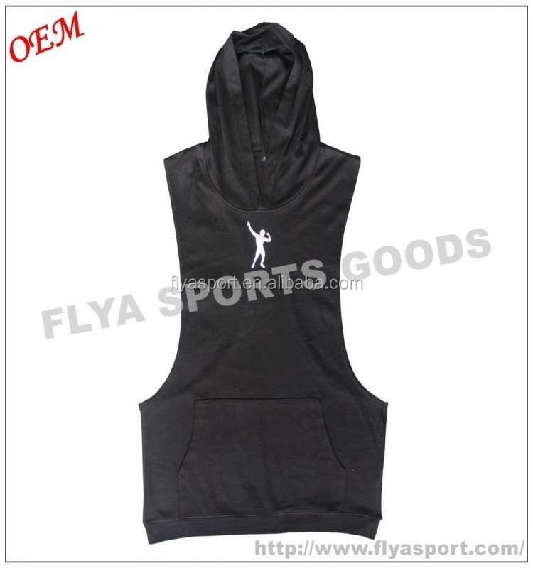 2017 china factory price oem service custom plain stringer hoodies for men