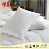 China Wholesale High Quality 100% Cotton Cover Duck Down Hotel Bedding Decorative Cushion Pillow For Sleeping