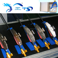 fletching jig High quality durable machine archery accessories for sticking arrow feathers silver fletching jig