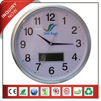 Automatic Calendar LCD Wall Clock