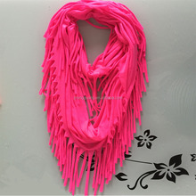 2016 Hot sale ladies fashion cheap pasmina infinity neck scarf