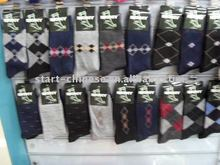 Hot cheap promotational men's business socks