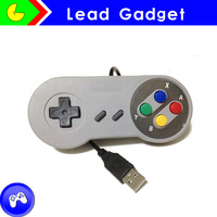 Memory Hot sell! Cheap controller for SNES controller console PC/USB