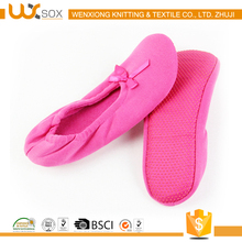 WX-2660 slipper socks with leather sole