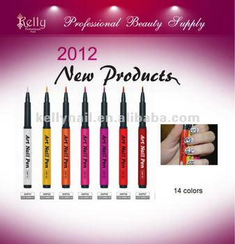 Art Nail Products Art Nail Pen for 14 colors