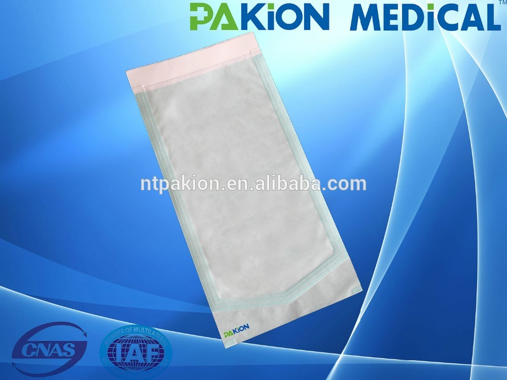 Customized size hospital sterilization methods auto sealing pouches