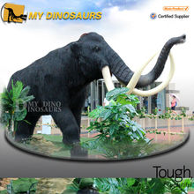 Artificial Realistic Animals Model Mammoth for Outdoor Playground