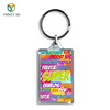 Zebulun Manufacturing Company Custom PET 3D Lenticular Acrylic Keychain With Logo