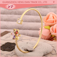 2015 fashion 22k gold covering jewellery bangles