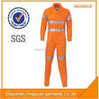 Star SG Orange 100% Cotton Fire Resistant Safety Coverall