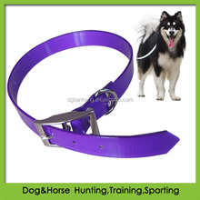 strong PVC wolf dog collar waterproof