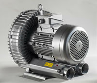 dongguan LD 075 H43 R18 three phase 380V 10hp Medical Air Systems side channel regenerative high pressure air blower