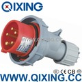 IP67 Waterproof male and female industrial plug and socket for industy