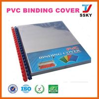 Teacher spiral notebook with binding pvc leather seat cover fabric