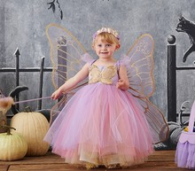 2018 lastest design baby <strong>girl's</strong> casual <strong>dress</strong> kids party tulle <strong>dress</strong> pluffy <strong>dress</strong>