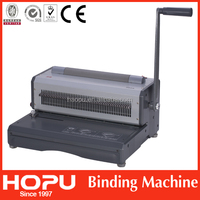 electric coil binding machine with binding rollers