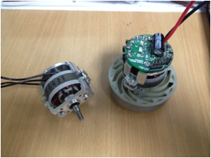 14.4V Brushless motor for handhold vacuum cleaner with high speed of 100000rpm