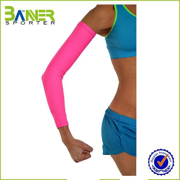 compression sports arm sleeve;arm and hand sleeves;cool arms sleeves