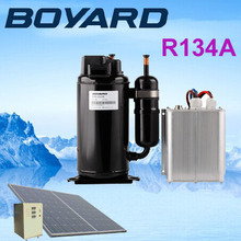 R134A 48 volt dc compressor ac compresor 3000W for armored vehicle air condition