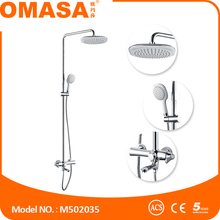 Unique style bathroom floor stand set bath and shower set