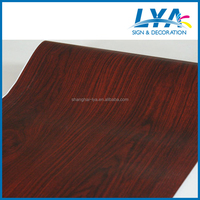 Classic wood grain self adhesive furniture covering foil with different kinds of design