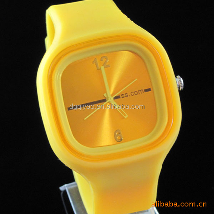 Hot Selling OEM Silicone Watch/ Quartz Jelly Wrist Watch