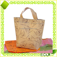 Western popular eco-friendly reusable promotional tote shopping beach grocery pp non woven carrier bags