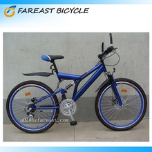 26'' Dual Full Suspension Mountain Bike 18 Speed Rhino Mountain Bike Professional Manufacturer