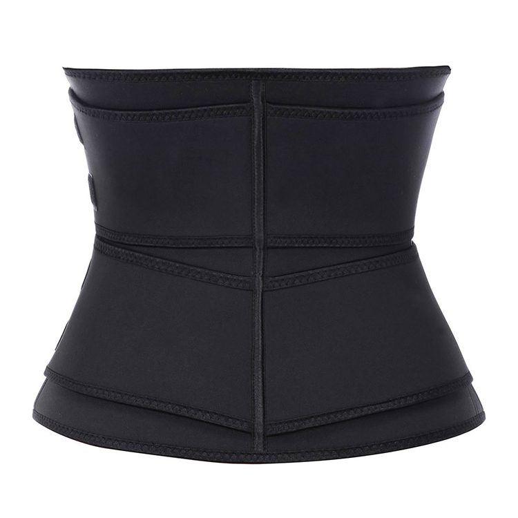 Lover-Beauty Private Label Hoge Kwaliteit Latex Dubbele Riem Rits Sauna Body Afslanken Vrouwen Corset Taille Trimmer Trainer Shapers