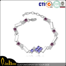 Followed By Trendy Premium Factory Direct Sale Cheap Crystal Bracelet On Factory Price,Best Selling Austrian Crystal Jewelry