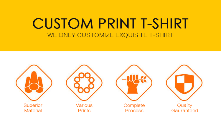 Factory Direct Custom T Shirt Printing 100% Cotton Tshirt