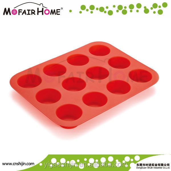 6 Cavities Silicone Cake Baking Mold Handmade Soap Moulds Cake Pan Muffin Cups Biscuit Chocolate Tray DIY Mold