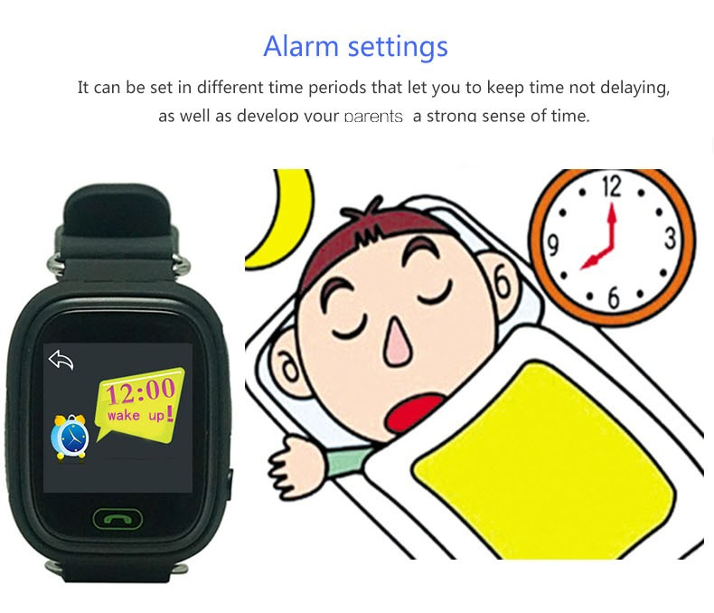 Factory gsm phone q60 kids gps watch