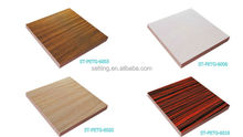 3D Decorative PETG Board ,Wood Grain Design PETG Film Faced Panel For cabinet
