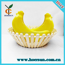 Yellow Banana Protector Guard Case for Camping Work School
