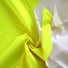 150D Waterproof PU Coated Fluorescent Oxford Fabric