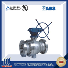 good quality flange chemical resistant ball valve